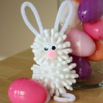 Q-tip Easter Bunny