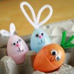 Plastic Easter Bunny Crafts