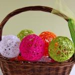 Glue Yarn Balls