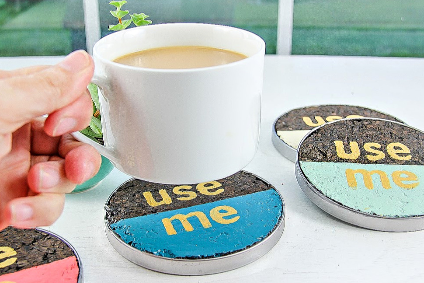 How To Make Diy Cork Coasters Make And Takes