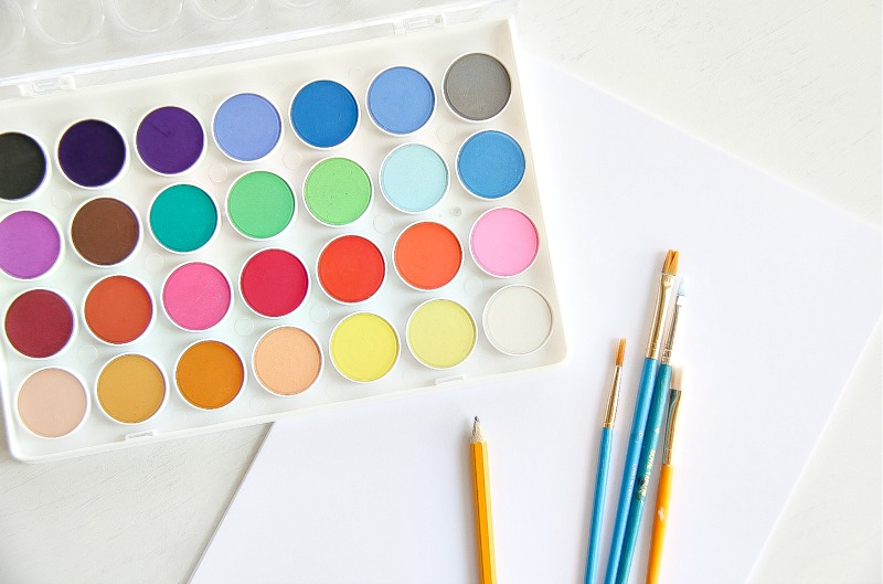 Truffula Tree Watercolor Art To Celebrate Earth Day