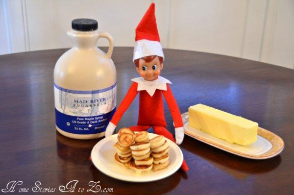 Mini Elf Pancakes