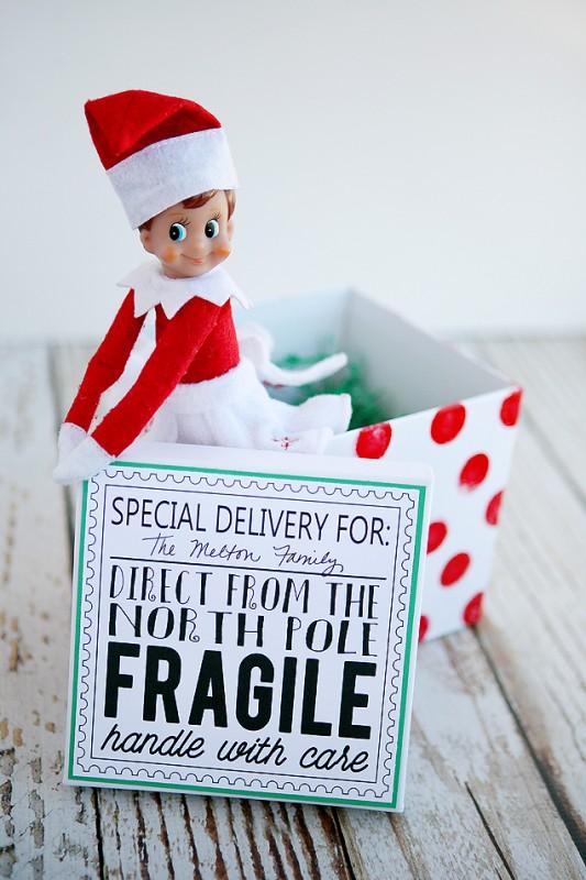 Elf on the Shelf Returns