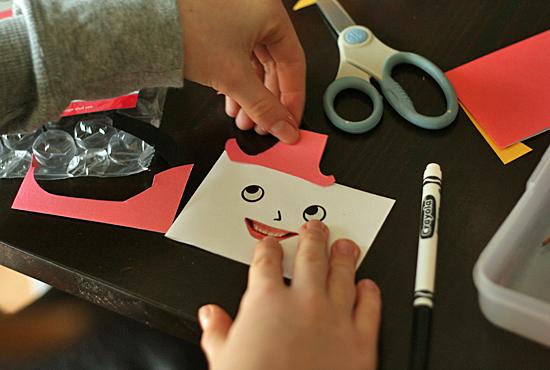 Envelope Hand Puppets Craft