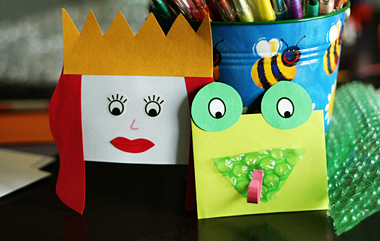 Quick And Easy Envelope Hand Puppets Make And Takes