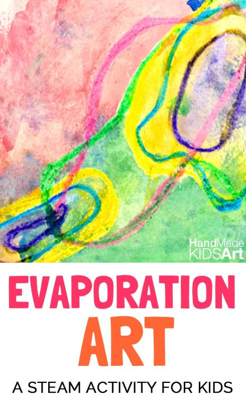 Evaporation Art with Puddles
