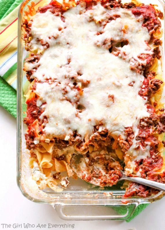 Faux Lasagna