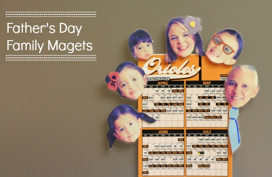 family fathers day magnets