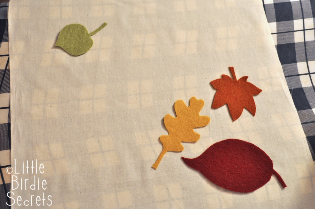 Iron On Leaf Cut Outs
