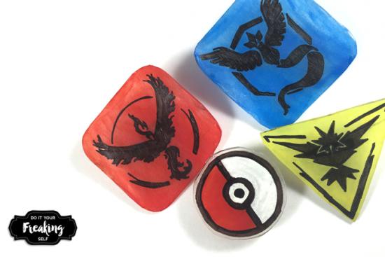 DIY Pokémon Go Pins
