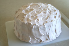 finished yogurt cake