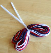 Pipe Cleaner wrapped