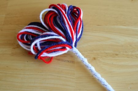 Firework Pipe Cleaner Twist