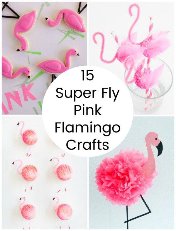 15 Super Fly Pink Flamingo Crafts