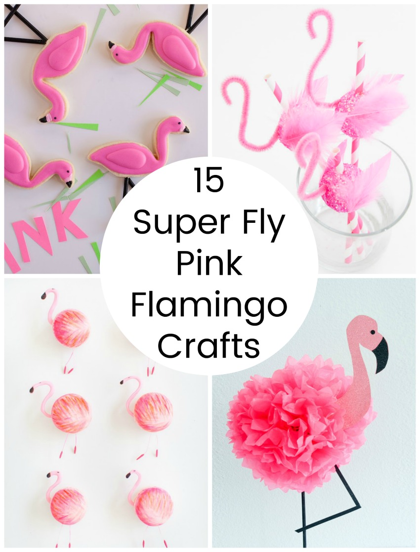 15 Super Fly Pink Flamingo Crafts Make And Takes