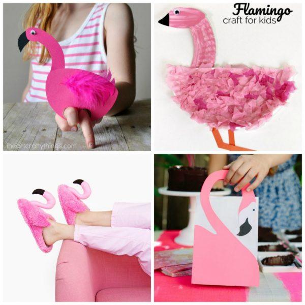 15 Super Fly Pink Flamingo Crafts