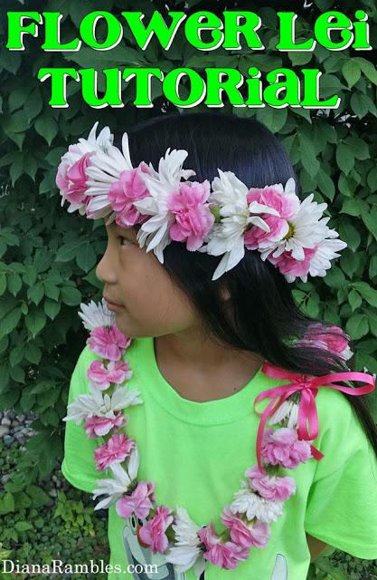 Flower Lei Tutorial