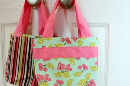 DIY Fat Quarter Bag