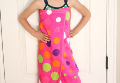 How to Make a Beach Towel Cover Up