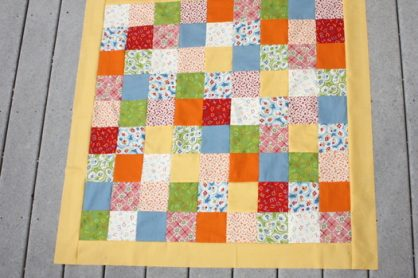 how to sew borders on a quilt