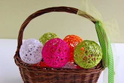Glue Yarn Ball