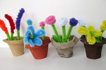 Crafty Miniature Flower Pots