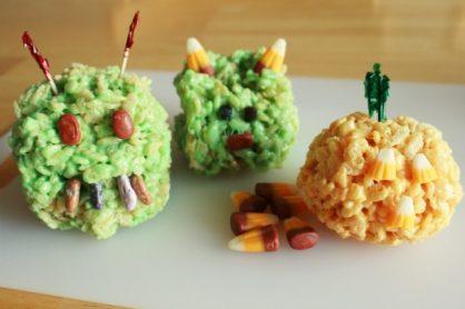 Rice Krispie Treat Halloween Treats