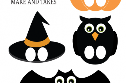 Free Halloween Puppet Printable