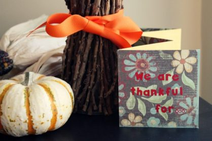 Crafty Thankful Book