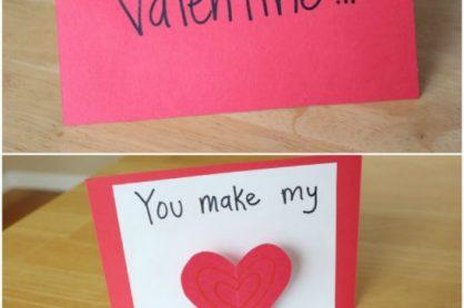 Valentine Heart Pop Up Cards