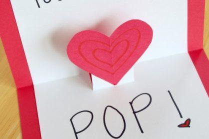 Crafty Valentine Heart Pop Up Cards