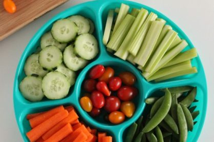 Vegetable Tray for Kids