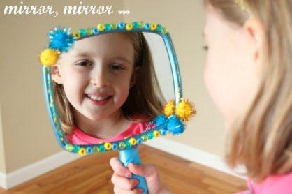 Mirror Mirror Snow White Craft