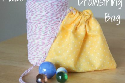 Sewing a Simple Marble Bag