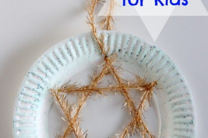 Hanukkah Crafts for Kids makeandtakes.com