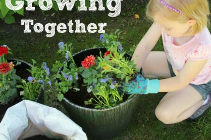 Growing and Planting a Garden with Kids