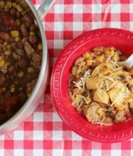 Chips and Cheese with Turkey Chili