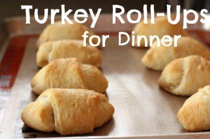 Turkey Roll-ups for Dinner