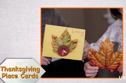 Turkey Place Cards makeandtakes.com
