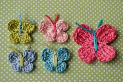 How to Crochet a Butterfly from littlebirdiesecrets.com