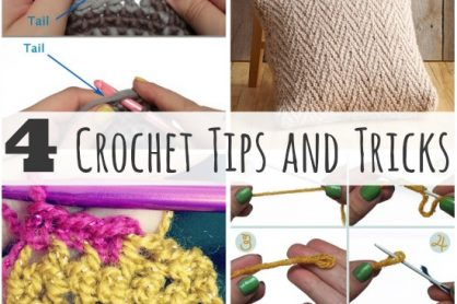 4 Crochet Tips and Tricks