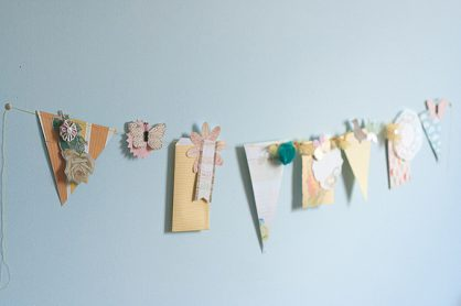Bits and Pieces Springtime garland and photo string by Francine Clouden-8