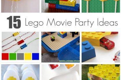 15 Lego Movie Party Ideas