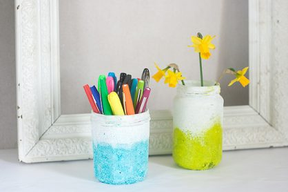 Textured Ombre Pen Cup and Vase by Francine Clouden-13