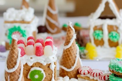 How to make Cute Candy Houses