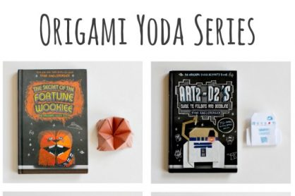 The Origami Yoda Series with Star Wars Puppets