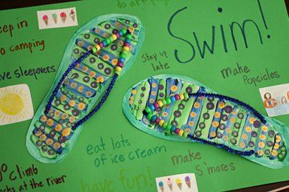 Flip-Flop Summer Poster