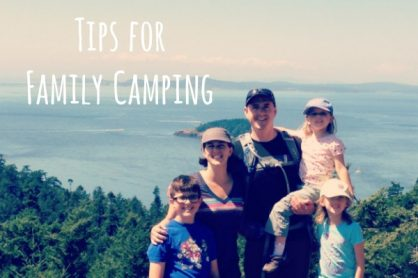 Quick Tips for Family Camping
