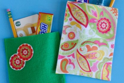 Felt Gift Bags for Teacher