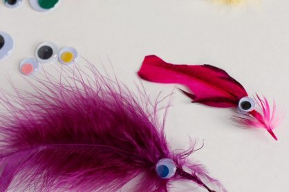 Crafting Cute Feathered Fish
